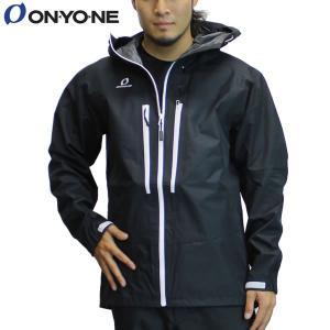 17SS ONYONE レインジャケット odj98036: Blk Wht 正規品/オンヨネ/メンズ/ブレステックシェルジャケット/雨具/カッパ/合羽/cat-out brv-2nd-brand