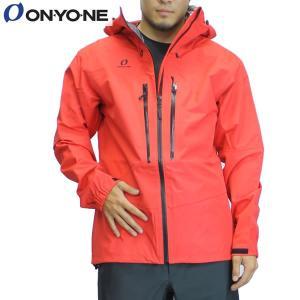 17SS ONYONE レインジャケット odj98036: RED 正規品/オンヨネ/メンズ/ブレステックシェルジャケット/雨具/カッパ/合羽/cat-out brv-2nd-brand