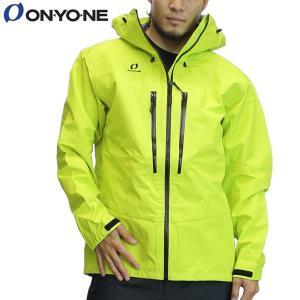 17SS ONYONE レインジャケット odj98036: Lime 正規品/オンヨネ/メンズ/ブレステックシェルジャケット/雨具/カッパ/合羽/cat-out brv-2nd-brand