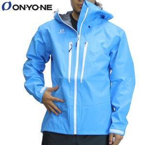 17SS ONYONE レインジャケット odj98036: Blue 正規品/オンヨネ/メンズ/ブレステックシェルジャケット/雨具/カッパ/合羽/cat-out brv-2nd-brand