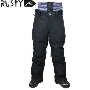 15 ラスティ RUSTY メンズスノーパンツ  #984700 : BLK 982-702|brv-2nd-brand