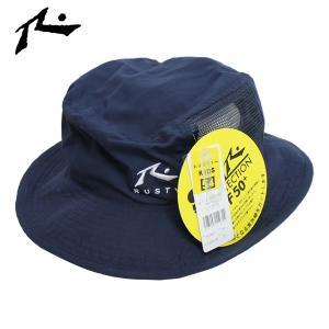 18SU 子供用 RUSTY ビーチハット BEACH HAT 968-900: nvy 正規品/ラスティー/サーフハット/ジュニア/キッズ/ラスティ/968900/surf/JR|brv-2nd-brand