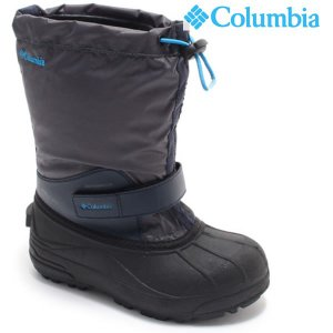 18FA COLUMBIA 子供用 ブーツ Youth Powderbug Forty by1324: Graphite コロンビア/正規品/ジュニア/キッズ/スノー/スノトレ/out/靴|brv-2nd-brand