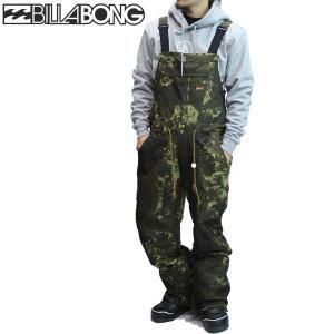 16-17 BILLABONG ビブパンツ BAKER PANT ag01m-700 : arm 正規品/メンズ/スノーボードウエア/ハイトップ/ビラボン/ag01m700/snow|brv-2nd-brand