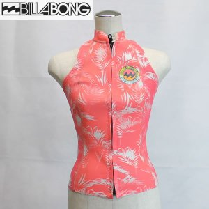 17SS レディース BILLABONG ウエットスーツ ah013-858: cls 正規品/ビラボン/タッパー/ノースリーブ/ah013858/ウェット/surf|brv-2nd-brand