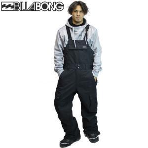 17-18 BILLABONG ビブパンツ BIB PANT ah01-m700 : blk 正規品/メンズ/スノーボードウエア/ハイトップ/ビラボン/ah01m700/snow|brv-2nd-brand