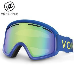 17-18 子供用 VONZIPPER ゴーグル TRIKE ah21m-716: blu 正規品/ジュニア/キッズ/スノーボード/ボンジッパー/ah21m716/snow|brv-2nd-brand