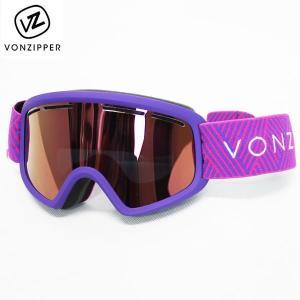 18-19 子供用 VONZIPPER ゴーグル TRIKE ai21m-709: pur 正規品/ジュニア/キッズ/スノーボード/スキー/ボンジッパー/ai21m709/snow|brv-2nd-brand