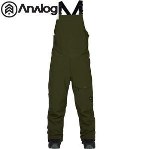 17-18 BURTON ビブパンツ Analog Breakneck Bib Pant 17080101: Forest Night 正規品/アナログ/スノーボードウエア/メンズ/snow|brv-2nd-brand