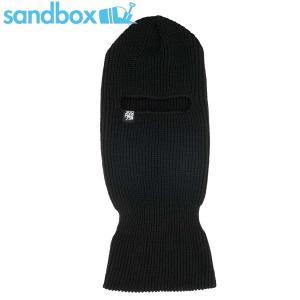 15 サンドボックス SANDBOX フェイスマスク FACE KOOZIE : BLACK 正規品 BALACLAVA|brv-2nd-brand