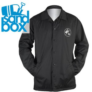 17-18 SANDBOX コーチジャケット TEAM COACH'S JACKET : BLK 正規品/メンズ/サンドボックス/スノーボード/ウエア/ウェア/snow|brv-2nd-brand