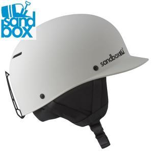 17-18 SANDBOX ヘルメット CLASSIC 2.0 ASIA FIT: White (MATTE) 正規品/サンドボックス/メンズ/スノーボード/snow|brv-2nd-brand