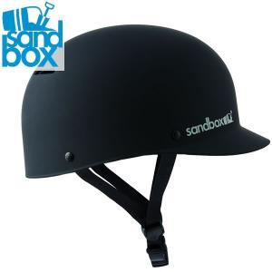 18-19 SANDBOX ヘルメット CLASSIC 2.0 LOW RIDER: BLACK (MATTE) 正規品/サンドボックス/メンズ/スノーボード/snow|brv-2nd-brand