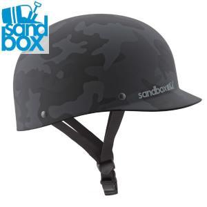 18-19 SANDBOX ヘルメット CLASSIC 2.0 LOW RIDER: Black Camo (MATTE) 正規品/サンドボックス/メンズ/スノーボード/snow|brv-2nd-brand