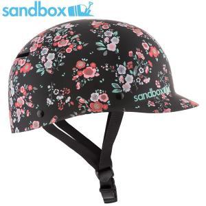 18-19 SANDBOX ヘルメット CLASSIC 2.0 LOW RIDER: Black Floral (MATTE) 正規品/サンドボックス/メンズ/スノーボード/snow|brv-2nd-brand