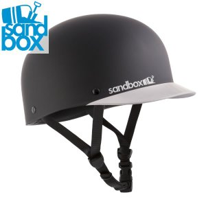 18-19 SANDBOX ヘルメット CLASSIC 2.0 LOW RIDER: Black Team (MATTE/GLOSS) 正規品/サンドボックス/メンズ/スノーボード/スキー/snow|brv-2nd-brand
