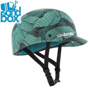 18-19 SANDBOX ヘルメット CLASSIC 2.0 LOW RIDER: Jungle (MATTE) 正規品/サンドボックス/メンズ/スノーボード/スキー/snow|brv-2nd-brand