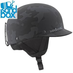 18-19 SANDBOX ヘルメット CLASSIC 2.0 SNOW ASIA FIT: Black Camo (MATTE) 正規品/サンドボックス/メンズ/スノーボード/スキー/snow|brv-2nd-brand