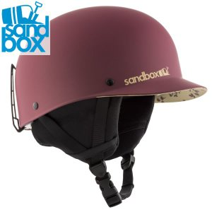 18-19 SANDBOX ヘルメット CLASSIC 2.0 SNOW ASIA FIT: Burgundy Floral (MATTE) 正規品/サンドボックス/メンズ/スノーボード/snow|brv-2nd-brand