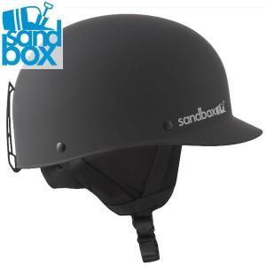 18-19 SANDBOX ヘルメット CLASSIC 2.0 SNOW ASIA FIT: Black (MATTE) 正規品/サンドボックス/メンズ/スノーボード/スキー/snow|brv-2nd-brand