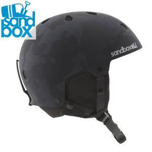 18-19 SANDBOX ヘルメット LEGEND SNOW ASIA FIT: Black Camo (MATTE) 正規品 メンズ/スノーボード/スキー/サンドボックス/snow|brv-2nd-brand