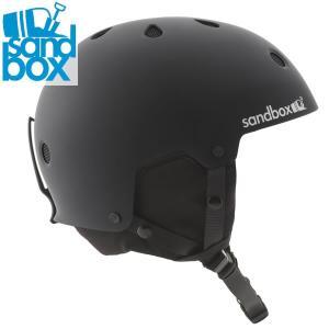 18-19 SANDBOX ヘルメット LEGEND SNOW ASIA FIT: BLACK (MATTE) 正規品 メンズ/スノーボード/スキー/サンドボックス/snow|brv-2nd-brand
