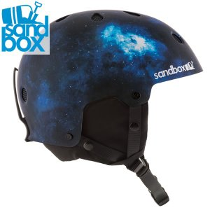 18-19 SANDBOX ヘルメット LEGEND SNOW ASIA FIT: Spaced Out (MATTE) 正規品 メンズ/スノーボード/スキー/サンドボックス/snow|brv-2nd-brand