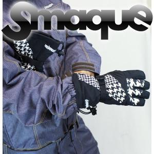 送料無料 14モデル SMAQUE ユニセックスグローブGLOVE スマック スノーボード SMQG-38 :CHIDORI(D146) *sl40〜sw*|brv-2nd-brand