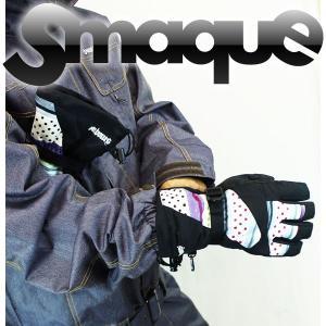 送料無料 14モデル SMAQUE ユニセックスGLOVE スマック スノーボード SMQG-38 :FBD 92GRY(D140) *sl40〜sw*|brv-2nd-brand