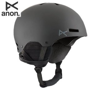 17-18 ANON ヘルメット Raider 13276100: Black 正規品/メンズ/アノン/スタンダードフィットシステム/スノーボード/snow|brv-2nd-brand