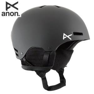 17-18 子供用 ANON ヘルメット RIME 13282100: Black 正規品/アノン/キッズ/ジュニア/スノーボード/snow|brv-2nd-brand