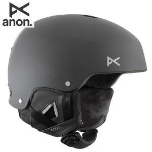 送料無料 15-16 アノン ANON メンズスノーボードヘルメット STRIKER 13309100: Black 正規品 スタンダードフィットシステム|brv-2nd-brand