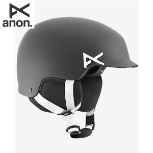 17-18 子供用 ANON ヘルメット Boys' Scout Helmet 13294100: Black 正規品/アノン/スノーボード/ジュニア/キッズ/snow/JR|brv-2nd-brand
