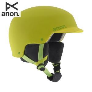 16-17 子供用 ANON ヘルメット Boys' Scout Helmet 13296102: Ricky Green 正規品/アノン/スノーボード/スキー/ジュニア/キッズ/snow/JR brv-2nd-brand