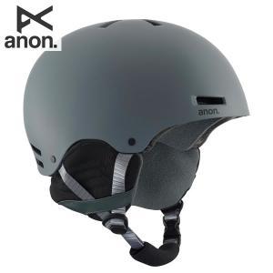 送料無料 17-18 ANON ヘルメット Raider 13276103: Gray 正規品/メンズ/アノン/スタンダードフィットシステム/スノーボード/snow brv-2nd-brand