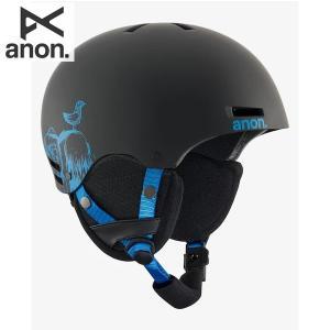 17-18 子供用 ANON ヘルメット RIME 13286103: Sulley Black 正規品/アノン/キッズ/ジュニア/スノーボード/snow|brv-2nd-brand