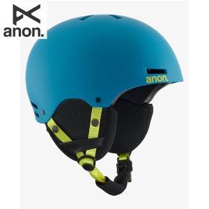 送料無料 17-18 子供用 ANON ヘルメット RIME 13286103: Blue 正規品/アノン/キッズ/ジュニア/スノーボード/snow brv-2nd-brand