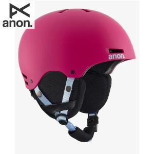 送料無料 17-18 子供用 ANON ヘルメット RIME 13286103:  Pink 正規品/アノン/キッズ/ジュニア/スノーボード/snow brv-2nd-brand