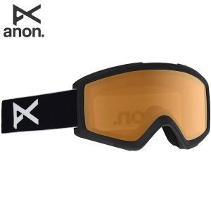 18-19 ANON ゴーグル anon. Helix 2.0 18528100: Black / Amber 正規品/アノン/スノーボード/スキー/メンズ/snow brv-2nd-brand