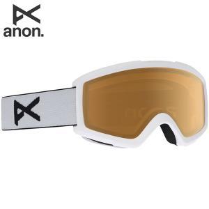 18-19 ANON ゴーグル anon. Helix 2.0 18528100: White / Amber 正規品/アノン/スノーボード/スキー/メンズ/snow brv-2nd-brand