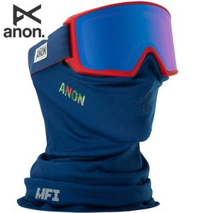 17-18 ANON ゴーグル anon. M3 18566100: MPI / SONAR Blue By ZEISS 正規品/アノン/スノーボード/スキー/メンズ/snow|brv-2nd-brand