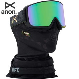 17-18 ANON ゴーグル anon. M3 19173100: Circle Camo / SONAR Green By ZEISS 正規品/アノン/スノーボード/メンズ/snow|brv-2nd-brand