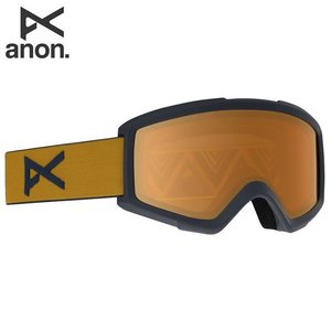 18-19 ANON ゴーグル anon. Helix 2.0 Goggle 18528101: Frame: Mustard, Lens: Amber 正規品/アノン/スノーボード/スキー/メンズ/snow|brv-2nd-brand