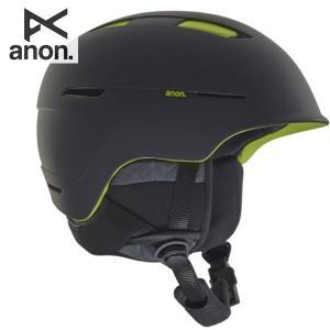 18-19 ANON ヘルメット INVERT ASIAN FIT 20604100: Black Green 正規品/アノン/メンズ/スノーボード/スキー/インバート/snow brv-2nd-brand