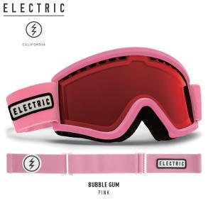 17-18 子供用 ELECTRIC ゴーグル egv.k BUBBLE GUM eg1917400: PINK 正規品/エレクトリック/ジュニア/キッズ/スノーボード/snow|brv-2nd-brand