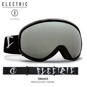 17-18 ELECTRIC ゴーグル MASHER THRASHER eg7217300: Brose/Silver Chrome 正規品/エレクトリック/ボルコム/スノーボード/snow|brv-2nd-brand