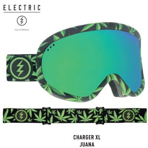 18-19 ELECTRIC ゴーグル EG7318205BRGC CHARGER XL : JUANA  /BROSE GREEN CHROME CONTRAST 正規品/エレクトリック/チャージャーXL/snow|brv-2nd-brand