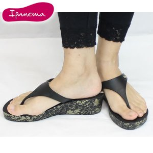 15SS イパネマ IPANEMA HONOLULU pm81416 : BLK 正規品 レディーストング ウェッジサンダル 【cat-fs】靴/シューズ|brv-2nd-brand