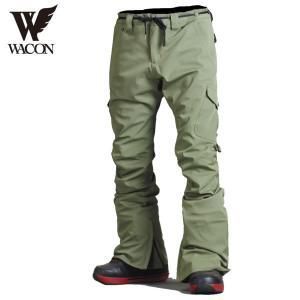 16-17 WACON パンツ monfils : KHAKI 正規品/メンズ/ワコン/スノーボード/ウエア/ウェア/snow|brv-2nd-brand
