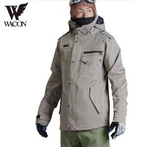 16-17 WACON ジャケット rommel : beg 正規品/メンズ/ワコン/スノーボード/ウエア/ウェア/snow|brv-2nd-brand